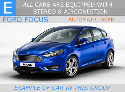 automatic car malaga - medium size automatic car malaga airport - ford focus automatic