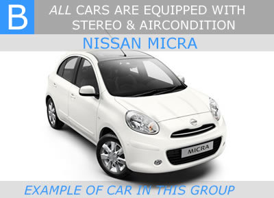 small car malaga cheap car rental malaga nissan micra 5 door